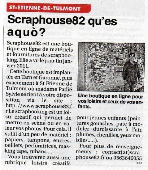 Article dans le petit journal de Tarn et Garonne